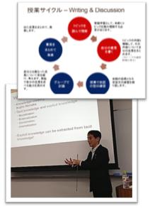JALT福井にて英語学習について講演